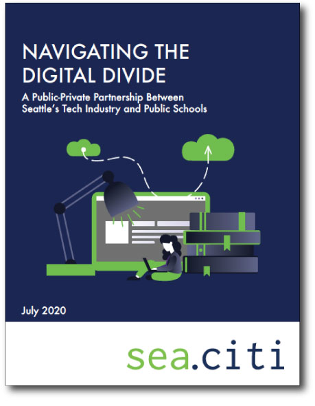 NAVIGATING THE DIGITAL DIVIDE July 2020 A Public-Private Partnership Between Seattle's Tech Industry and Public Schools